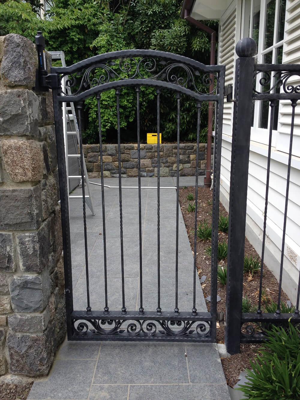 Christchurch wrought iron metalwork gates fences